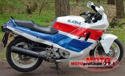 Honda CBR 600 F (reduced effect) 1990 photo