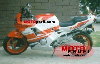 Honda CBR 600 F (reduced effect) 1992 photo