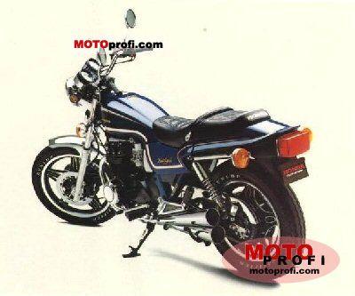 Honda CB 650 RC (reduced effect) 1982 photo