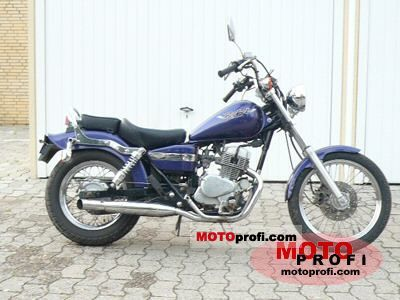 Honda CA 125 Rebel 1997 photo