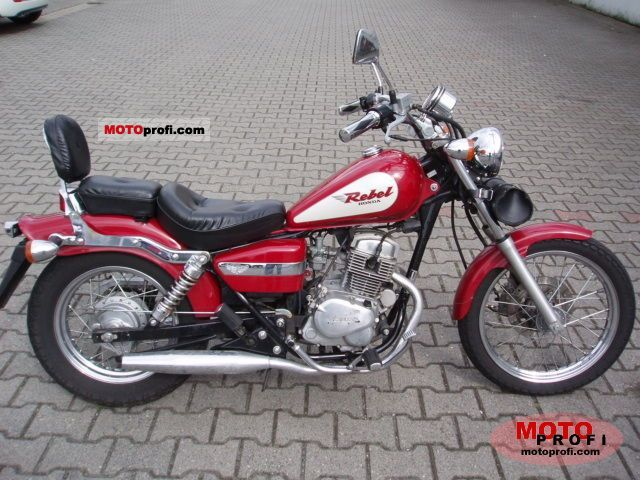 Honda CA 125 Rebel 1999 photo