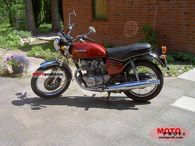 Honda CB 500 T 1975 photo