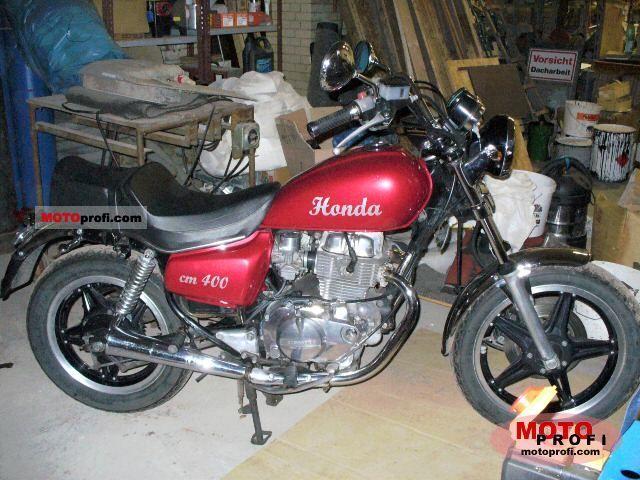 honda cm 400 t1982