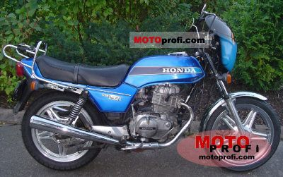 Honda CB 250 N 1979 photo