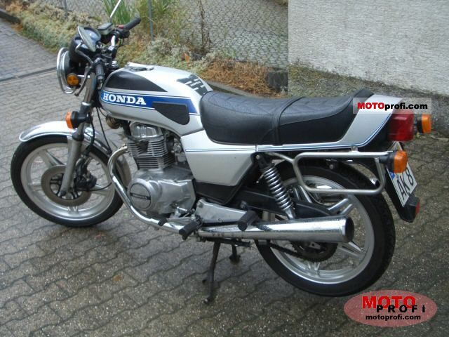Honda CB 250 N 1980 photo