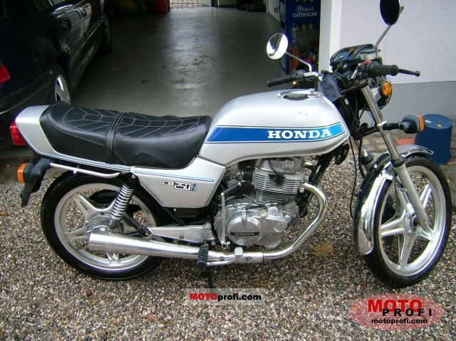 Honda CB 250 N 1981 photo