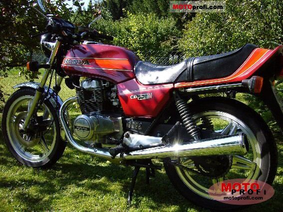 Honda CB 250 N 1983 photo