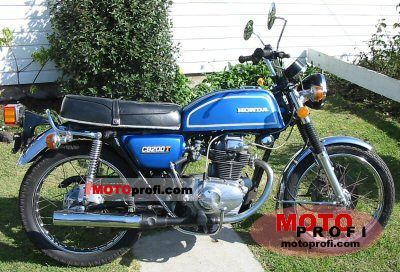 Honda CB 200 Disc 1977 photo
