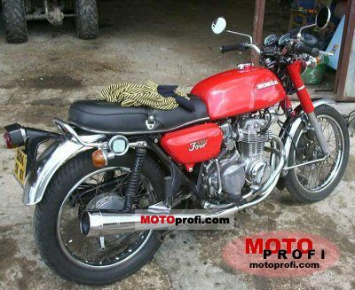 Honda CB 350 disc 1975 photo