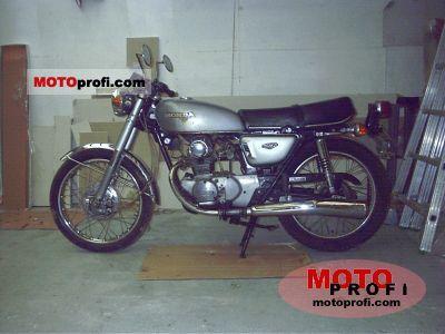 Honda CB 125 disc 1976 photo