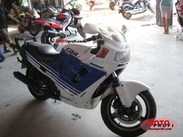 Honda CBR 1000 F 1988 photo