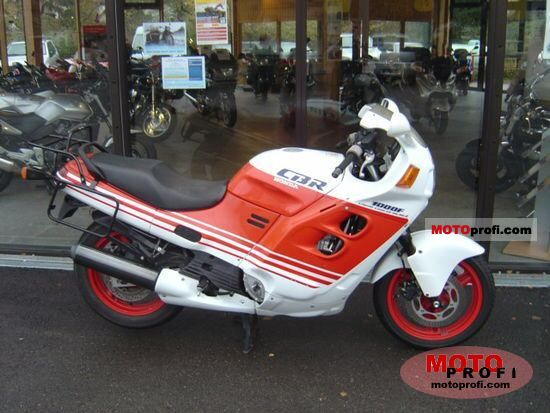 Honda CBR 1000 F 1990 photo