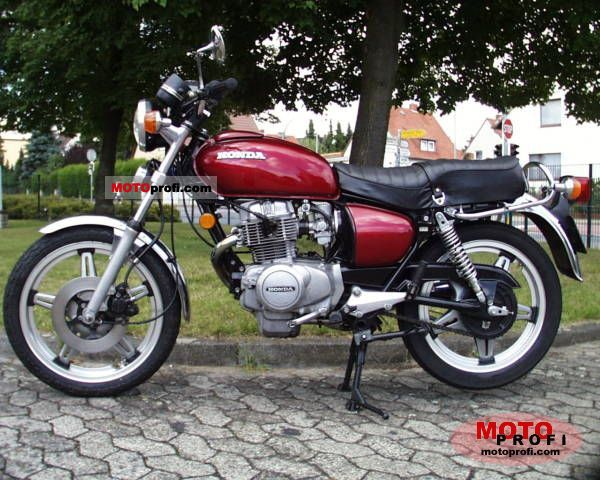 Honda CB 250 T 1978 photo