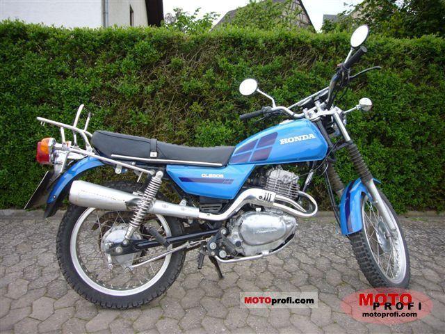 Honda CL 250 S 1982 photo