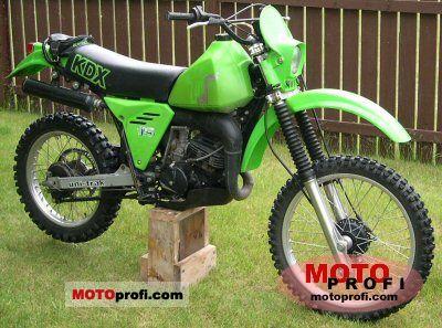 Kawasaki KDX 175 1982 photo
