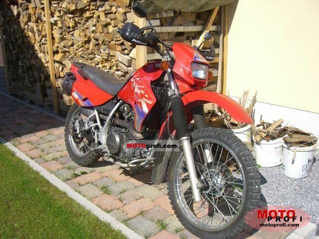 Kawasaki KLR 650 1996 photo