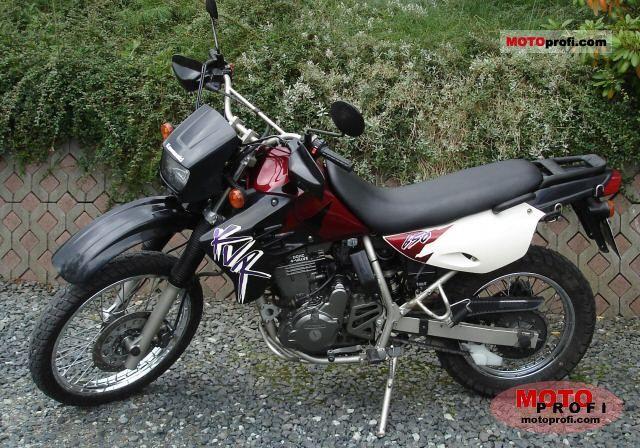 Kawasaki KLR 650 1998 photo