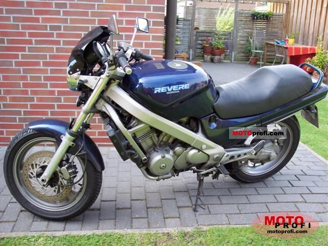 honda ntv 650 revere 1991 specs and photos. Black Bedroom Furniture Sets. Home Design Ideas