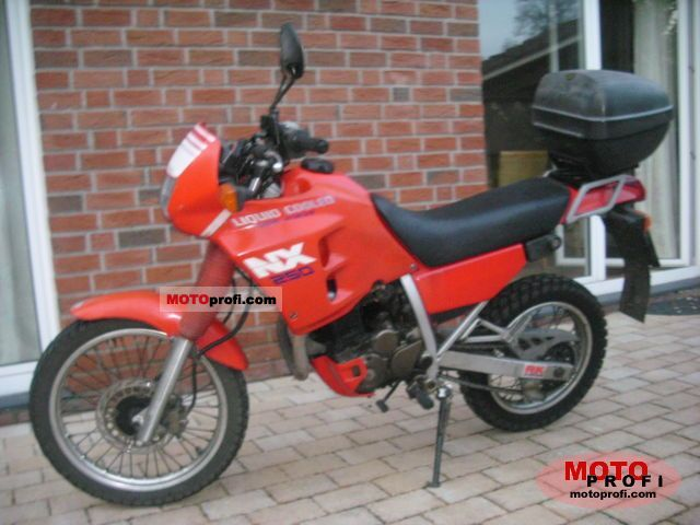 Honda NX 250 1988 photo