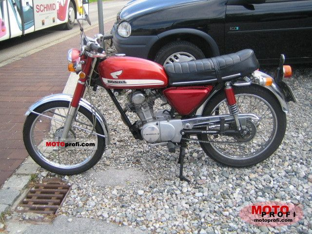 Honda CB 100 1973 photo