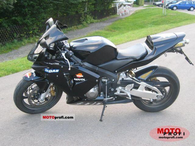 Honda Cbr 600 Rr 2003 Specs And Photos