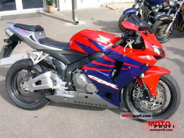 Honda CBR 600 RR 2005 Specs and Photos