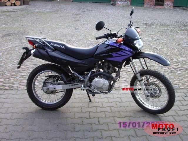 honda xr 125 l 2003 specs and photos. Black Bedroom Furniture Sets. Home Design Ideas