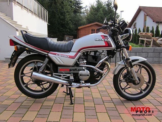 Honda CB 450 N 1984 photo