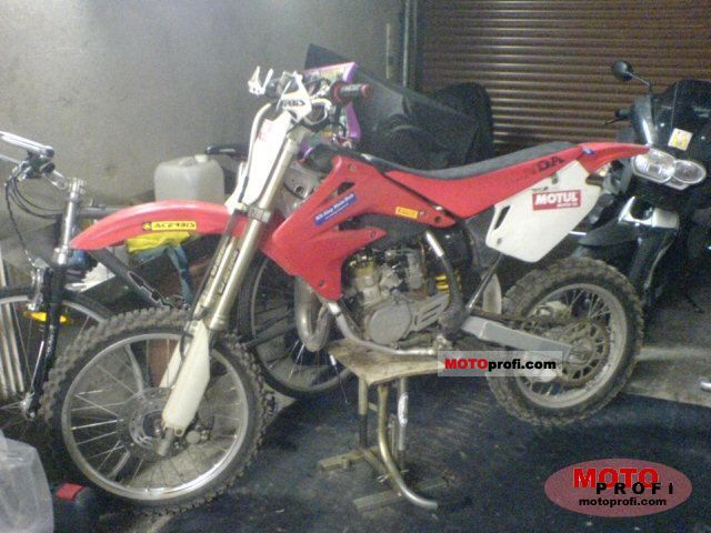 2004 Cr85r Seat Height