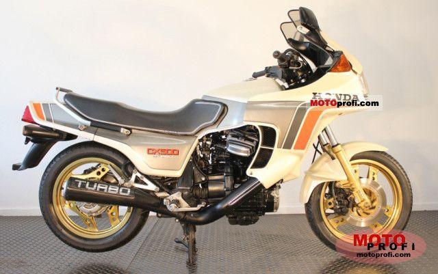 Honda CX 500 Turbo 1982 photo