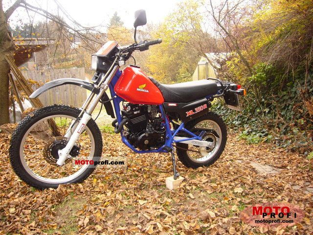 Honda XL 350 R 1984 photo