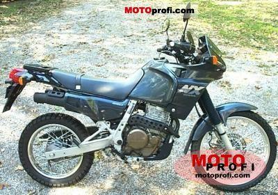 1989 Honda NX650 Dominator - Moto.ZombDrive.COM