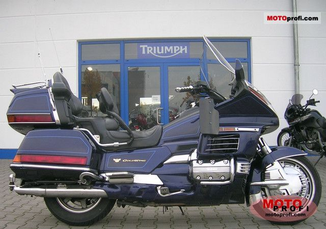 Honda Gl 1500 Se Gold Wing 2000 Specs And Photos