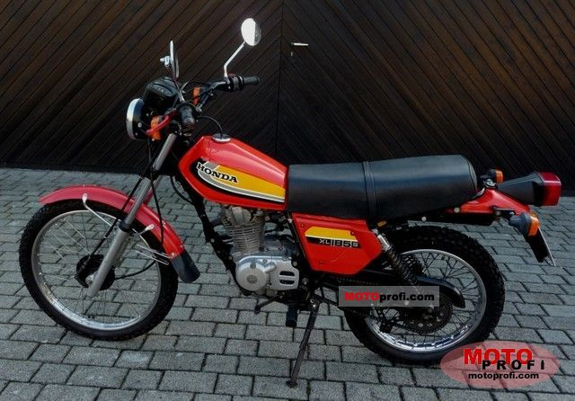Honda XL 185 S 1981 photo