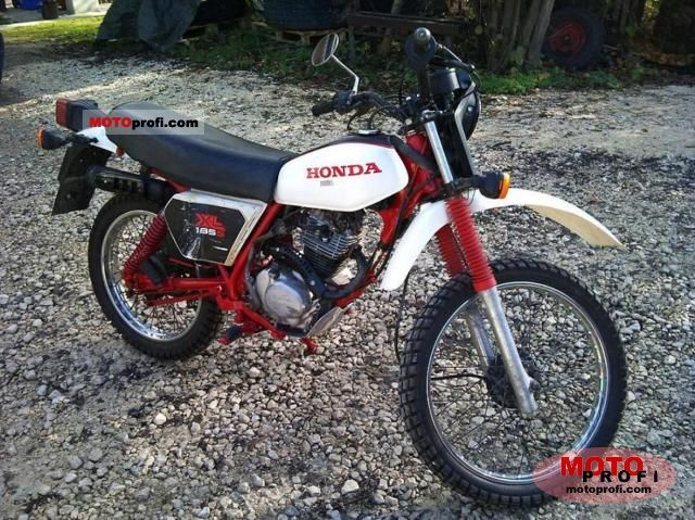 Honda XL 185 S 1983 photo