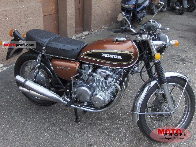 Honda CB 500 F 1972 photo