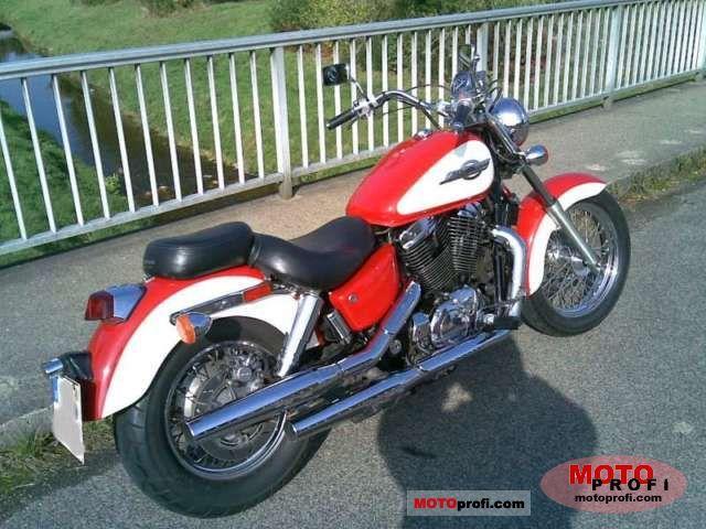 Honda Vt 1100 C2 Shadow Ace 1997 Specs And Photos