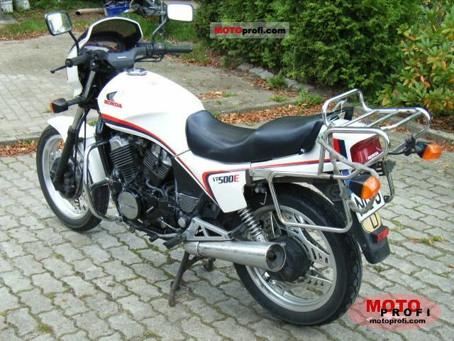 honda vt 500 e 1983 specs and photos. Black Bedroom Furniture Sets. Home Design Ideas
