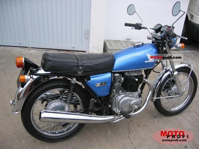 honda cb 250 g 1975 specs and photos. Black Bedroom Furniture Sets. Home Design Ideas