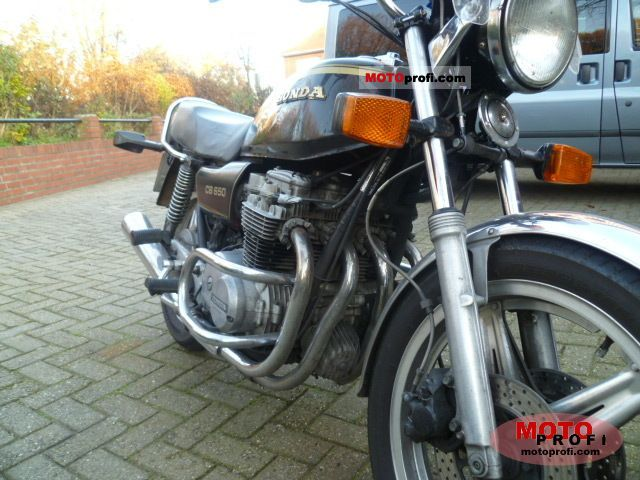 Honda CB 650 1982 photo