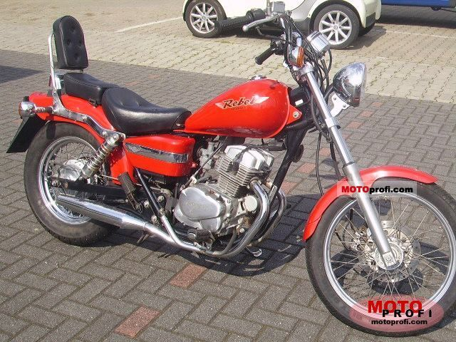 honda ca 125 rebel 1997 specs and photos. Black Bedroom Furniture Sets. Home Design Ideas