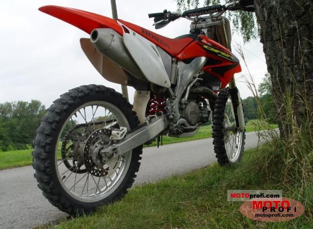 Honda Crf 450 R 2003 Specs And Photos