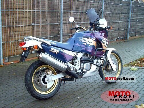 honda xrv 750 africa twin 1995 specs and photos. Black Bedroom Furniture Sets. Home Design Ideas