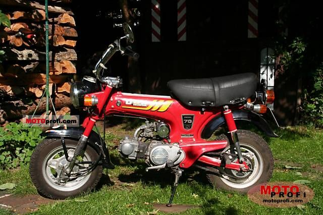 honda st 70 dax 1979 specs and photos. Black Bedroom Furniture Sets. Home Design Ideas