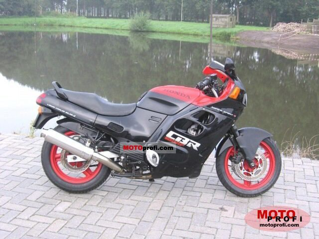 Honda CBR 1000 F 1987 Specs and Photos