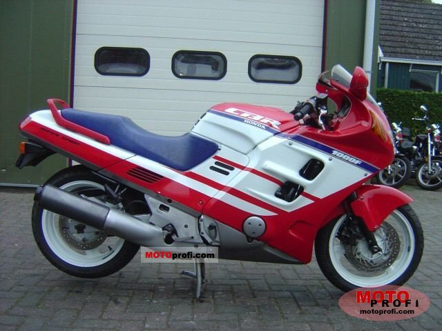 honda cbr 1000 f 1989 specs and photos. Black Bedroom Furniture Sets. Home Design Ideas