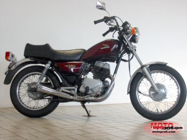 Honda Cm 250 C 1984 Specs And Photos