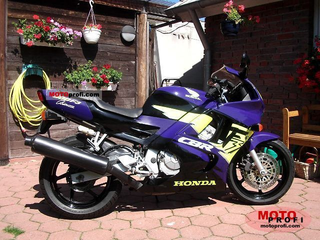 Honda Cbr 600 F3 1995 Specs And Photos