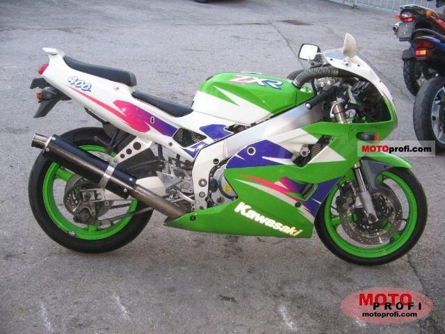 Kawasaki ZXR 400 1999 Photo 9