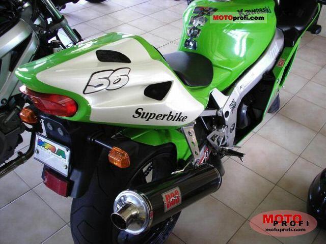 Kawasaki ZX-7R Ninja 2000 Specs and Photos